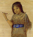 Plains Indian Girl with Melon.jpg