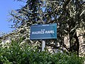 Plaque Allée Maurice Ravel - Pantin (FR93) - 2021-04-27 - 2.jpg