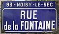 Plaque Rue Fontaine - Noisy-le-Sec (FR93) - 2021-04-16 - 1.jpg
