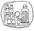 Plaque of Ur-Nina, King of Lagash, with four of his sons.jpg