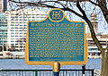 Plaque regarding French Settlement on South Shore, Windsor, Ontario, 2014-12-07.jpg