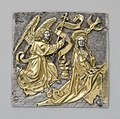 Plaque with The Annunciation MET cdi56-43.jpg