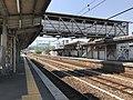 Platform of Nishi-Takaya Station 2.jpg