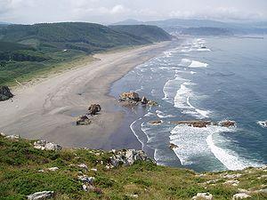 Castrillón - Playón de Bayas (Bayas beach).