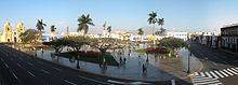Trujillo Main Square in the afternoon