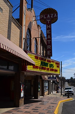 Glasgow, Kentucky - The Historic Plaza Theatre in Downtown Glasgow