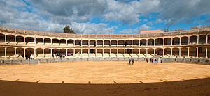 Carmen (1984 film) - The bullring in Ronda, one of the filming locations for Carmen