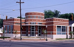 Plaza-Midwood (Charlotte neighborhood) - The Plaza-Midwood branch of the Public Library of Charlotte and Mecklenburg County
