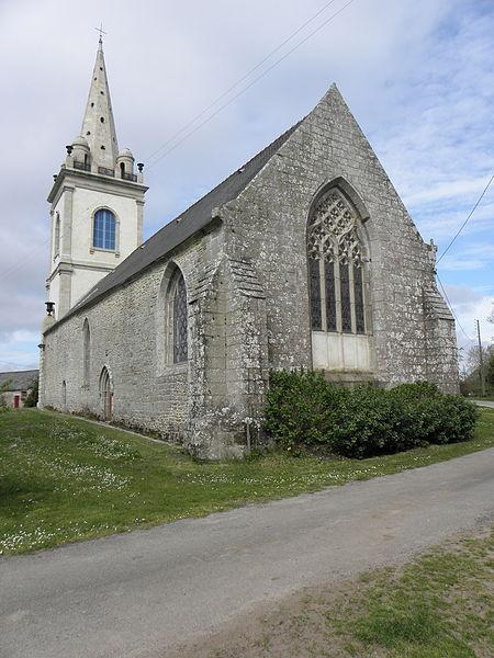 Chapelle Notre-Dame-de-Crénénan sise en Ploërdut (56). Chevet.