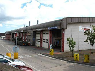 Plymouth Citybus - Milehouse depot (June 2011)