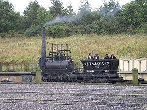 Steam Elephant - Replica Steam Elephant locomotive, Beamish Museum