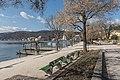 Poertschach Johannes-Brahms-Promenade Schiffsanlegestelle 14032016 0938.jpg