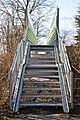 Poertschach Scherzweg Fussgaengerbruecke ueber die Bahnstrecke 06032011 091.jpg