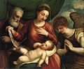Polidoro da Lanciano Holy Family with Angel.jpg