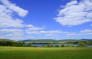 Ishimbaysky District - Image: Pond in Urazbayevo 3