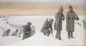 Anti-Polish sentiment - 19th-century Polish exiles in Siberia (painting)
