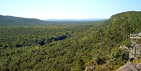 A vista in the Porcupine Mountains