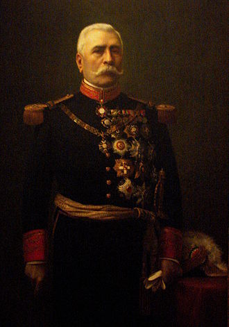 Caudillo - General Porfirio Díaz, president of Mexico 1876-1911