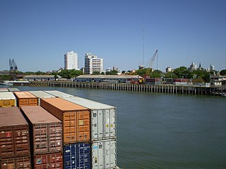 Corrientes Province - Port of Corrientes, on the Paraná River