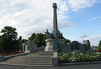 Port Sunlight - Image: Port Sunlight war memorial 1