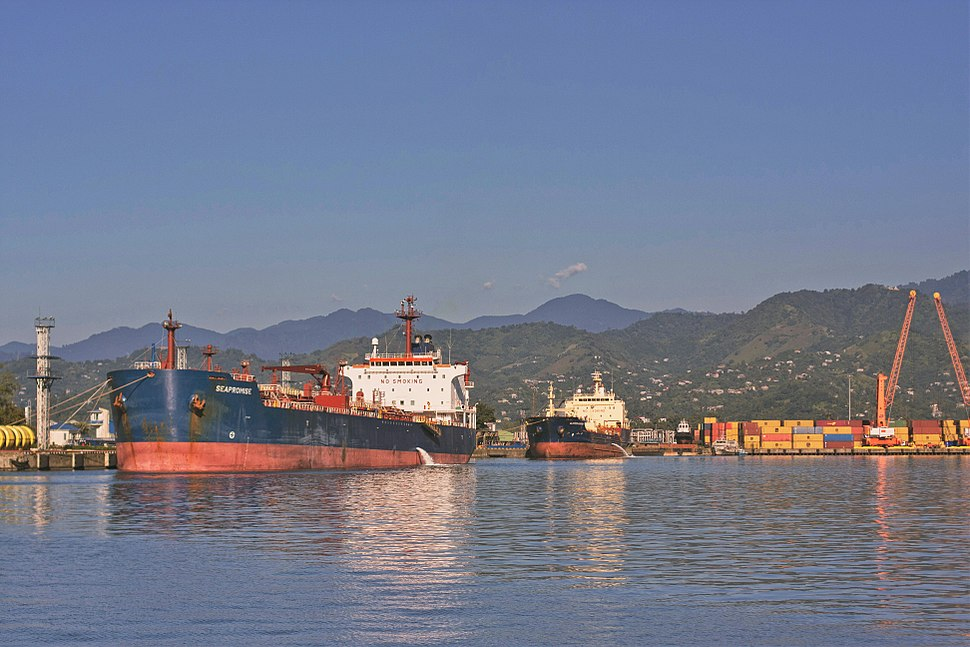 Port of Batumi, Georgia