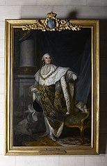 portrait en pied de Louis XVI en costume de sacre