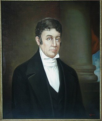 Archibald Roane - Portrait of Roane by C.J. Fox