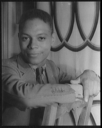 Jimmie Daniels - portrait by Carl Van Vechten c.1940