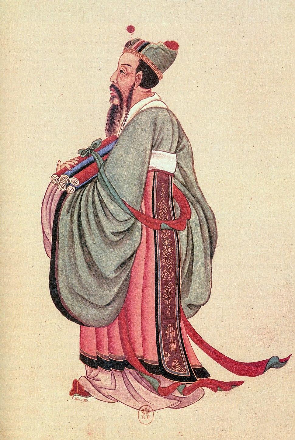 Portrait of Konfucius, 18th century