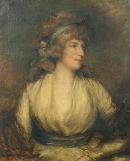 Portrait of Mrs Maria Fitzherbert, wife of George IV