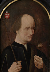Portrait of Arent Franckensz van der Meer (?-1503), Lord of Papendrecht, nicknamed 'malicious Aertje'