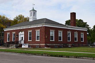 Corydon, Iowa - The historic post office in Corydon.