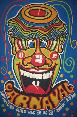 Carnival of Santiago de Cuba - Image: Posters of Cuba 007
