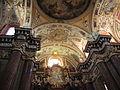 Poznan, cieling in collegiate church.JPG