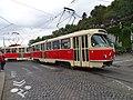 Průvod tramvají 2015, 18a - tramvaj 6149 a 6102.jpg
