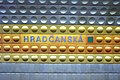 Praha, Dejvice, stanice metra Hradčanská II.JPG