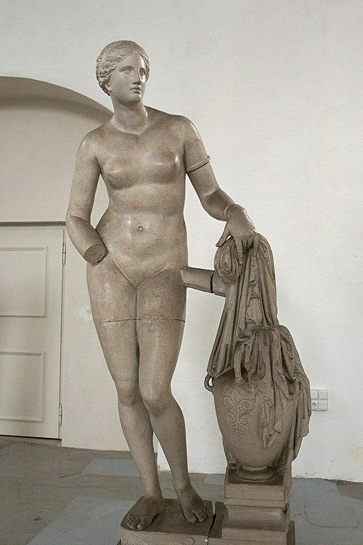 Praxiteles, Aphrodite of Knidos, 350 BC, Plaster cast, Hostinné, 188460