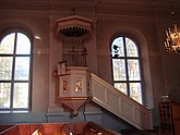 Fil:Predikstolen, By kyrka 2.jpg
