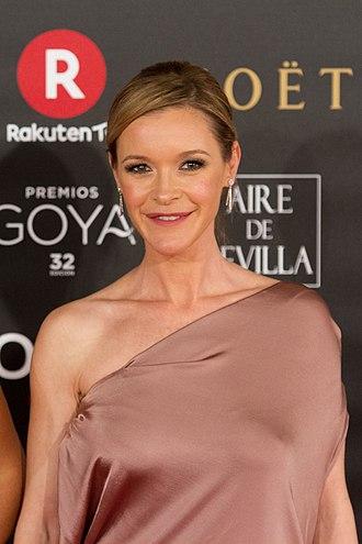 María Esteve - Esteve at the 32nd Goya Awards in 2018