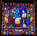 Presentation of the Christ Child in the Temple, France, c. 1195, stained glass - Hyde Collection - Glens Falls, NY - 20180224 123932.jpg