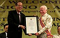 President Benigno S. Aquino III gives a Conferment of the Order of Sikatuna to Ambassador Jose L. Cuisia Jr. (02).jpg