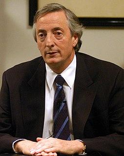 Néstor Kirchner 50th president of Argentina