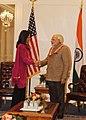 Prime Minister Modi meets Rep. Tulsi Gabbard in New York.jpg
