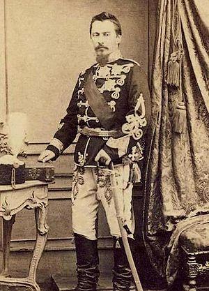 Alexandru Ioan Cuza - Alexandru Ioan Cuza official portrait