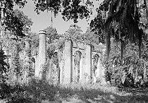 Prince William's Parish Church (Ruins), Sheldon vicinity (Beaufort County, South Carolina).jpg