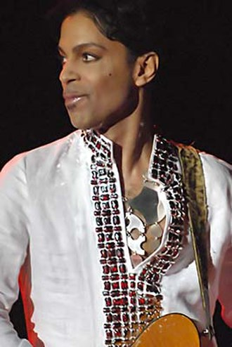 Super Bowl XLI - American singer and musician Prince headlined the halftime show