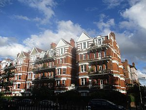 Prince of Wales Drive, London - Prince of Wales Mansions