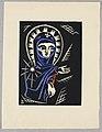 "Print, Madonna, Plate I, ""Ethiopie, cili Christos, Madonna a Svati, jak jsem ie videl v illuminacich starych ethiopskych kodexu"" Portfolio, 1920 (CH 18684909-2).jpg"