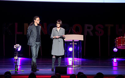 Prix ars electronica 2012 06 Christine Schöpf, Gerfried Stocker.jpg