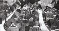 Projekt Villensiedlung Bohrertal in Horben, Bebauungsmodell von Max Laeuger, 1907.png